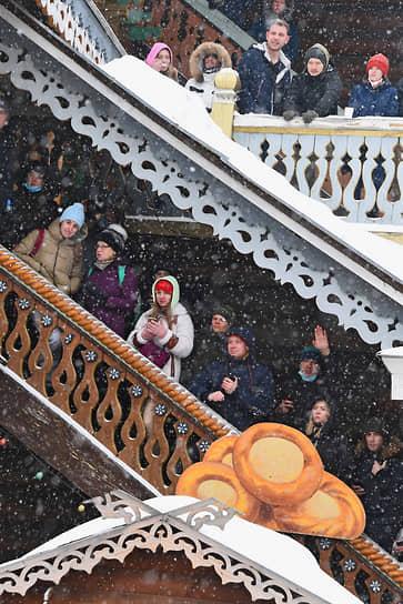 Гуляния в Измайловском Кремле