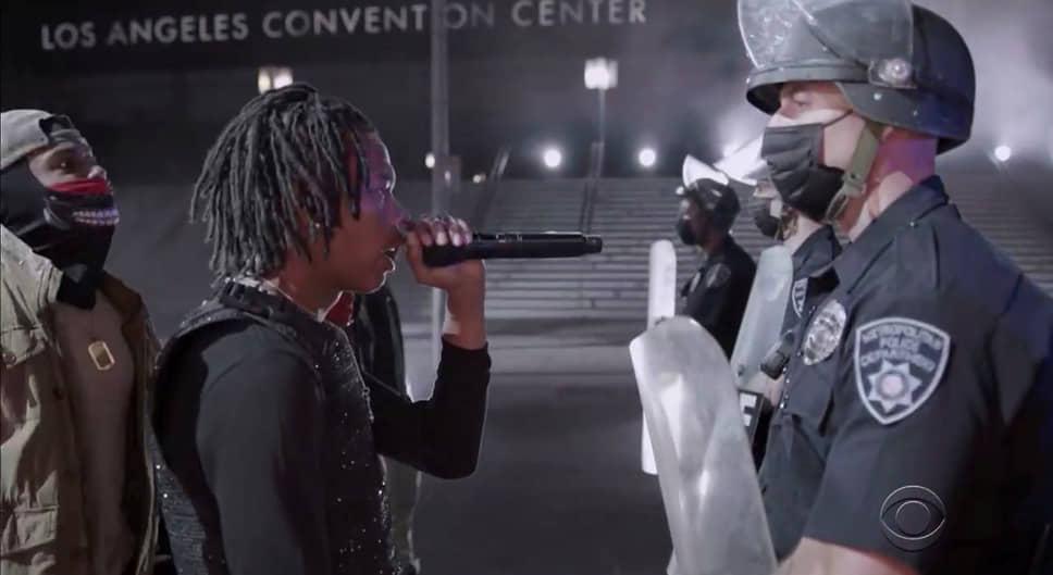 Выступление американского хип-хоп-исполнителя Lil Baby