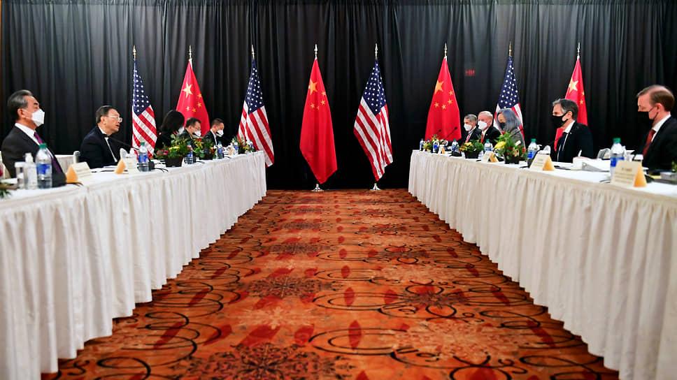 Переговоры США и Китая пропахли порохом