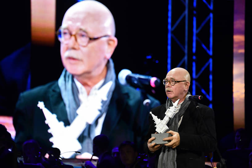 Архитектор Евгений Асс на церемонии вручения ежегодной премии The Art Newspaper Russia