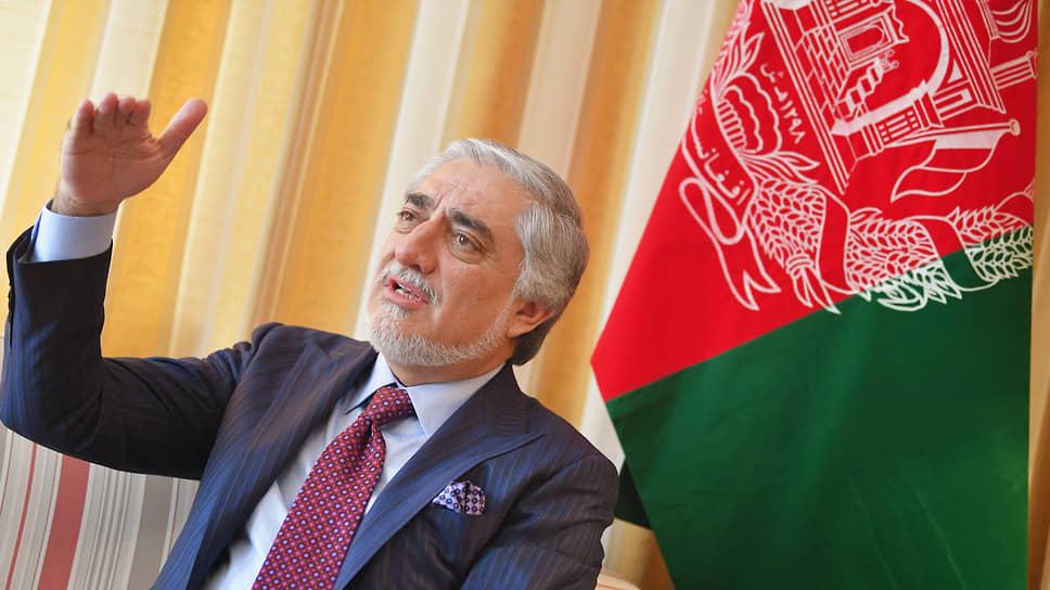 Глава Высшего совета национального примирения Афганистана Абдулла Абдулла