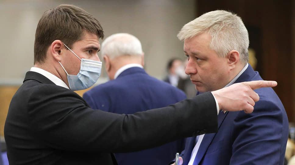 Депутаты Сергей Боярский (слева) и Алексей Лисовенко
