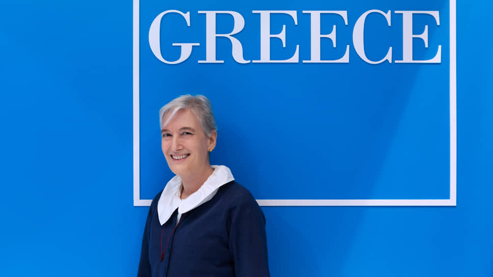 Посол Греции в РФ Екатерини Нассика