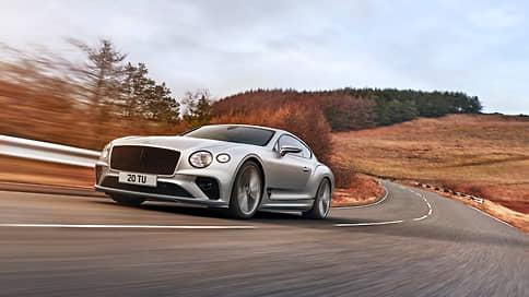 Третья «Скорость»  / Новый Bentley Continental GT Speed