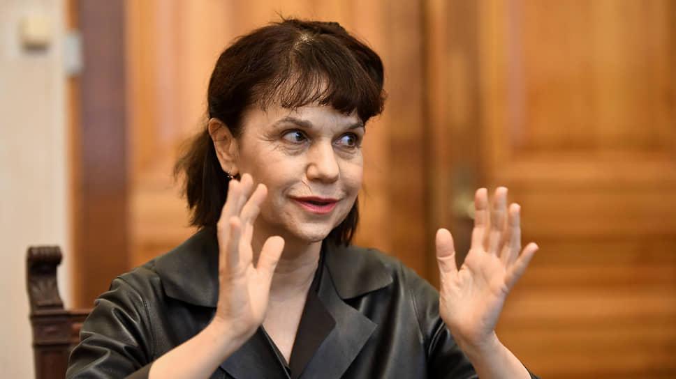 Директор Государственного музея изобразительных искусств им. А. С. Пушкина Марина Лошак