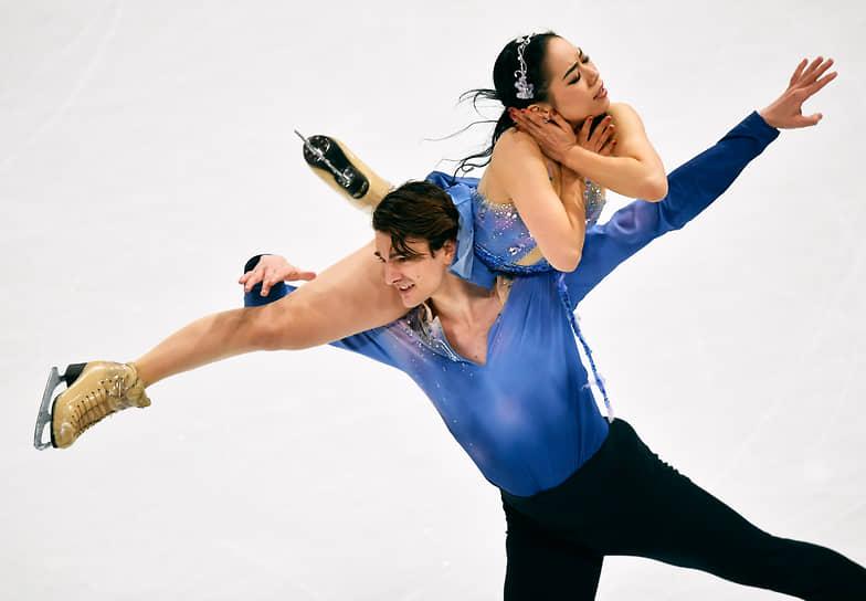 Японцы Мисато Комацубара и Тим Колето