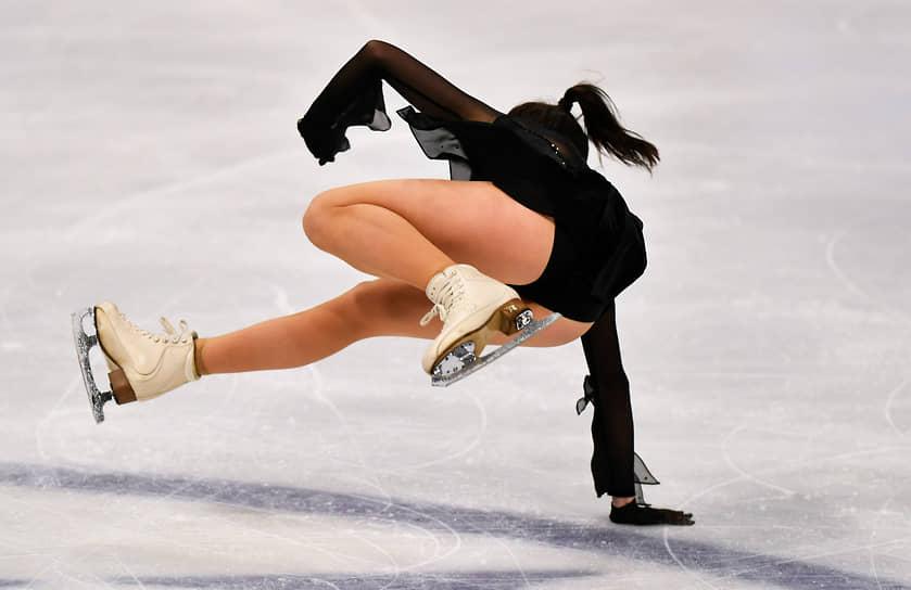 Россиянка Елизавета Туктамышева завоевала серебро в одиночном катании