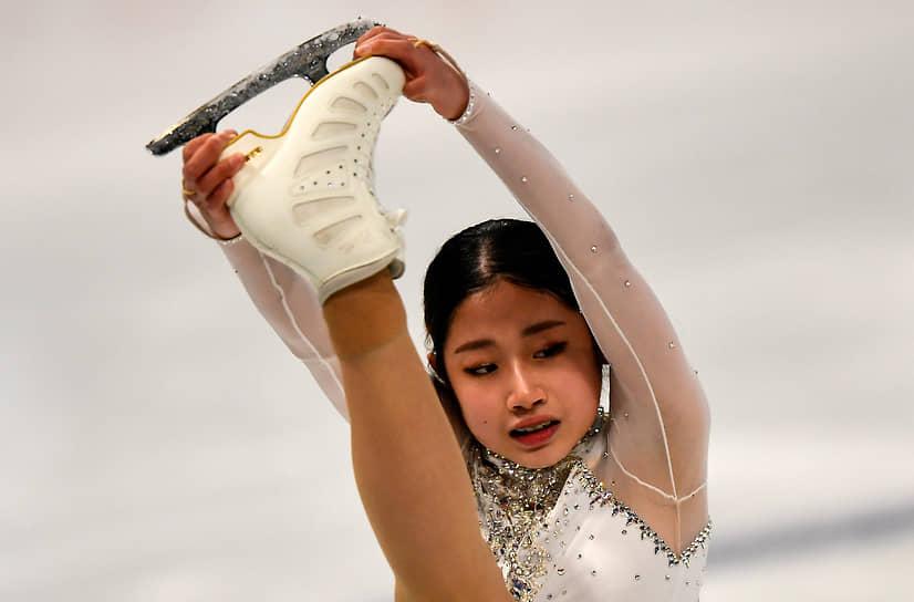 Кореянка Ли Хэ Ин
