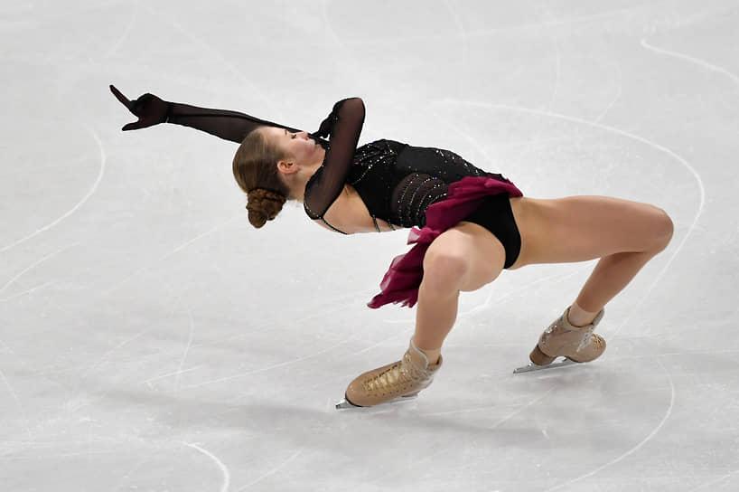 Россиянка Александра Трусова завоевала бронзу