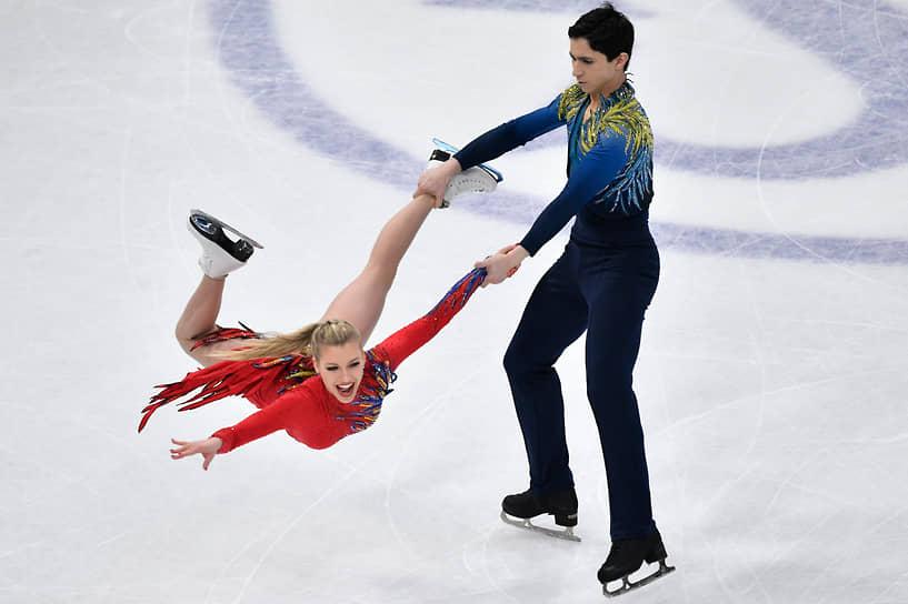 Канадцы Маржори Лажуа и Закари Лага