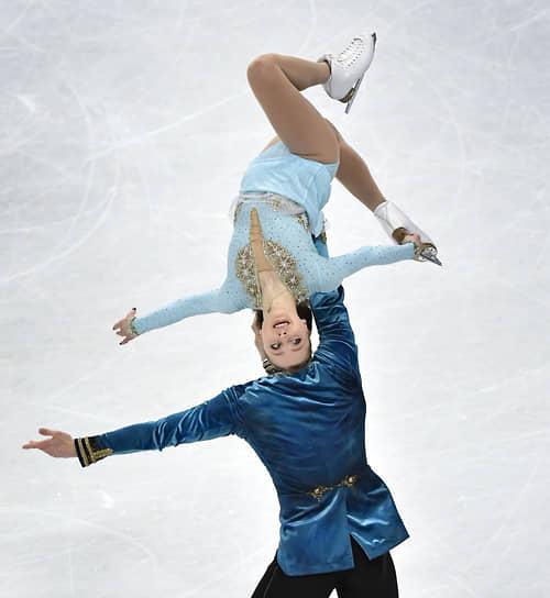 Россияне Александра Бойкова и Дмитрий Козловский завоевали бронзу в спортивных парах