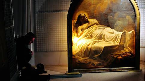 «Христос во гробе» может выйти из запасников  / Русский музей заявил об отсутствии ограничений на демонстрацию картины Карла Брюллова