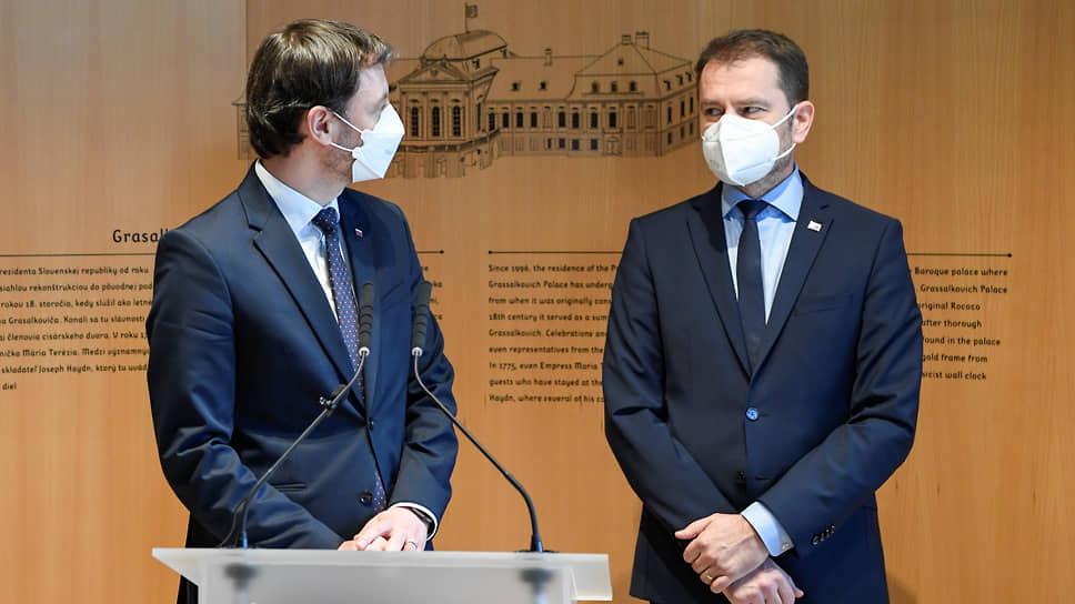 Как правительство Словакии ушло в отставку из-за «Спутника V»