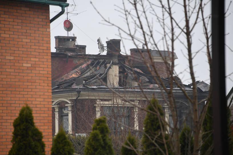 МЧС сообщило о ликвидации пожара в коттедже
