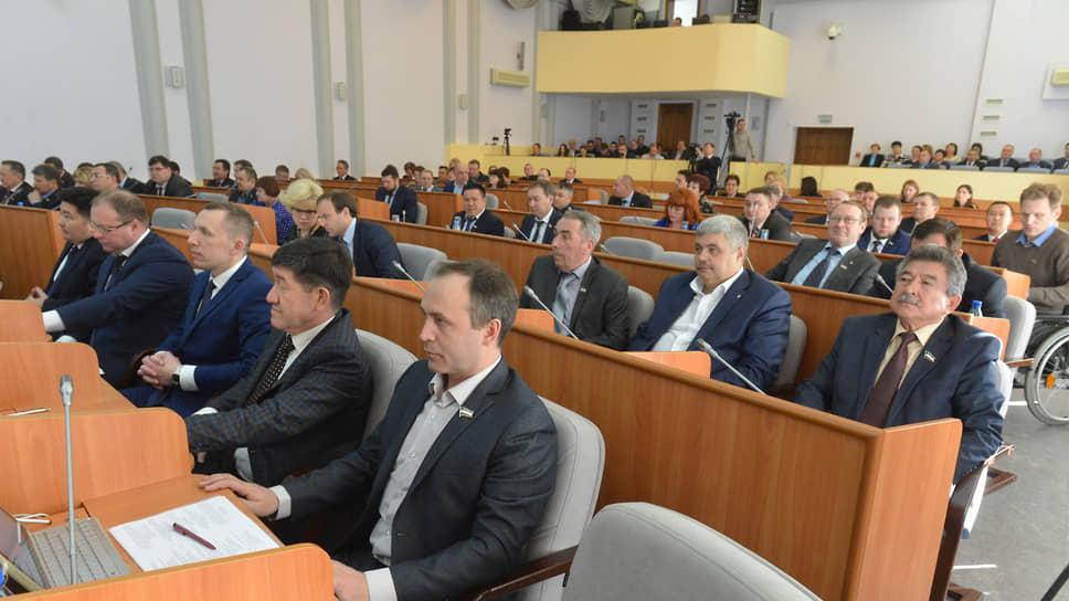Заседание Верховного совета республики Хакасия