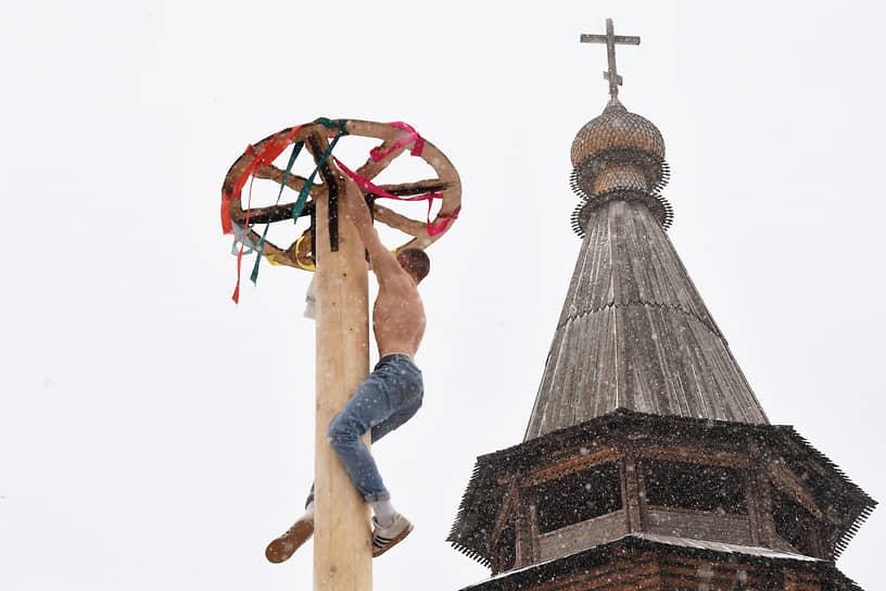 13 марта. Москва. Соревнования на Масленице