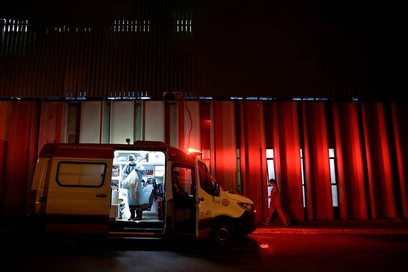 Бразилиа, Бразилия. Машина скорой помощи