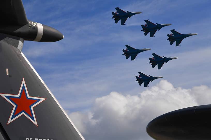 В марте 2021 года экипажи авиагруппы впервые провели боевые стрельбы