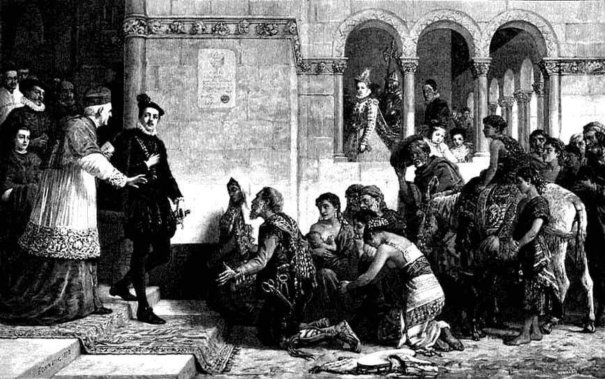 Парижская хроника 1427 года так описывает первую встречу парижан с цыганским табором: «…несмотря на их бедность, среди них были чародейки, которые, глядя на ладонь, говорили, что случилось, или только должно случиться; они внесли раздор в некоторые семьи… пока они занимались пророчествами, у народа опустошались кошельки… Так пришлось им убраться»