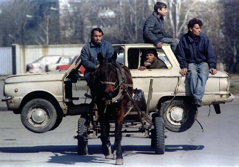 Во второй половине XX века начался рост миграции цыган в Западную Европу из Восточной и в Россию из других стран бывшего СССР
