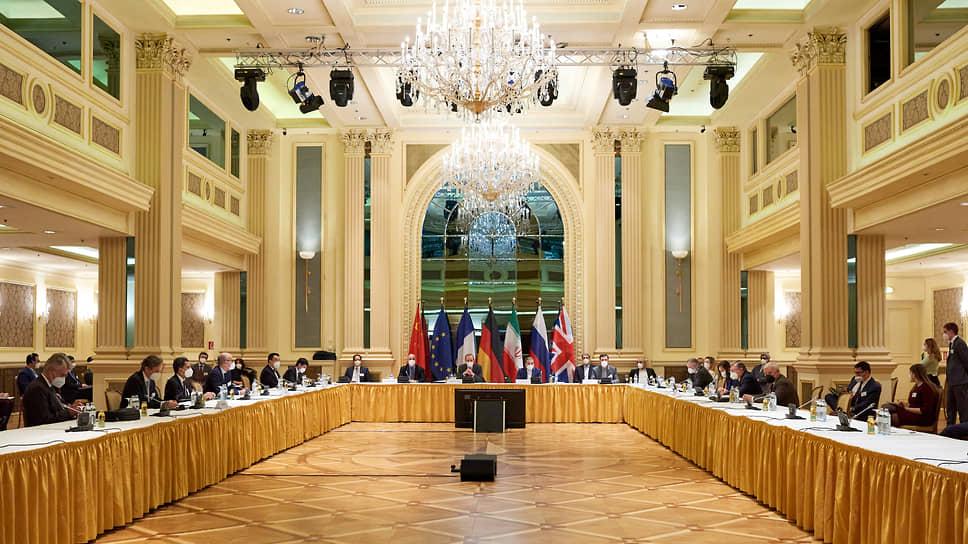 Заседание подписантов Совместного всеобъемлющего плана действий в Вене