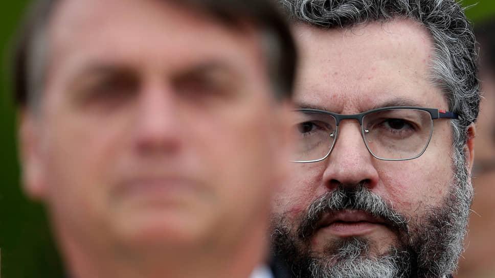 Бывший министр иностранных дел Бразилии Эрнесто Араужо