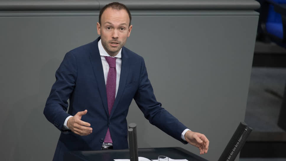 Депутат от ХДС Николас Лёбель
