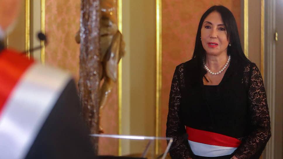 Бывший министр иностранных дел Перу Элизабет Астет