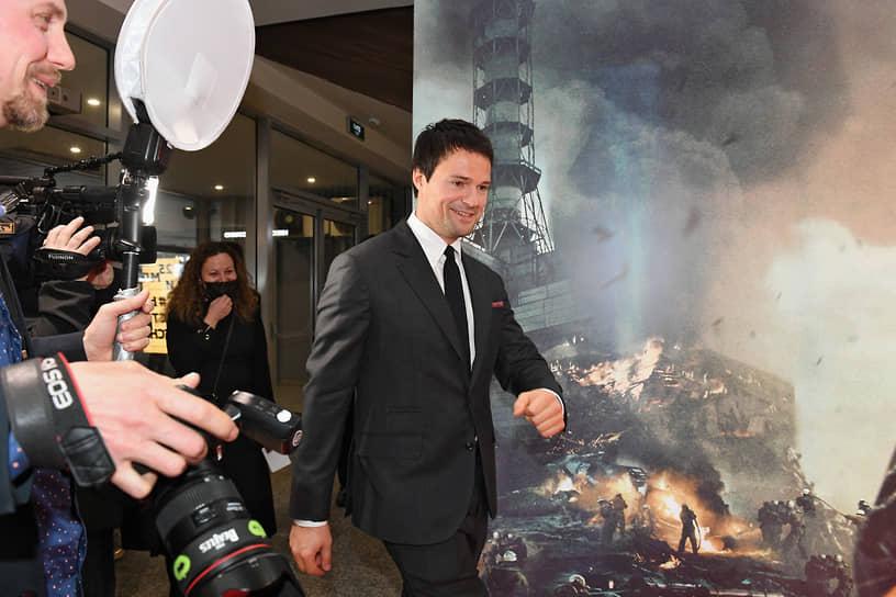 Москва. Актер, режиссер Данила Козловский на премьере своего фильма «Чернобыль»