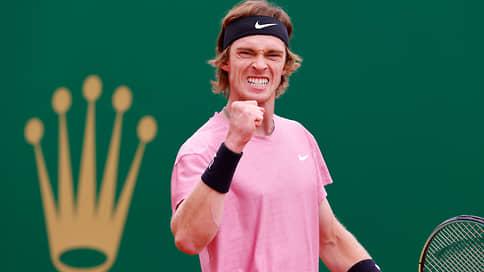 Финалист века  / Теннисист Андрей Рублев поспорит за титул в Монте-Карло