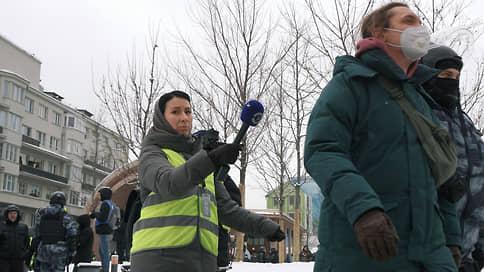 Журналистов просили быть при жилетах // Полиция напомнила работникам СМИ о дресс-коде