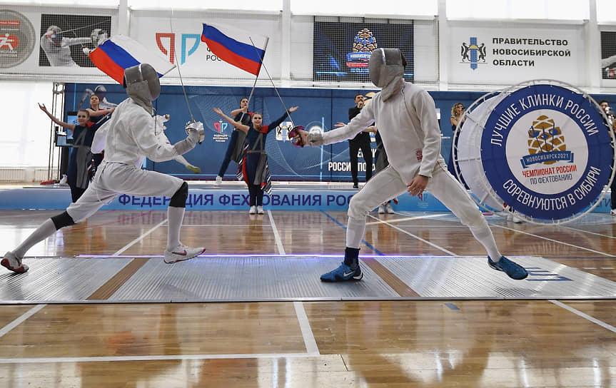 Занятость фехтовального комплекса составляет 100%. Центр является базой для проведения первенства страны по фехтованию и подготовке сборной России