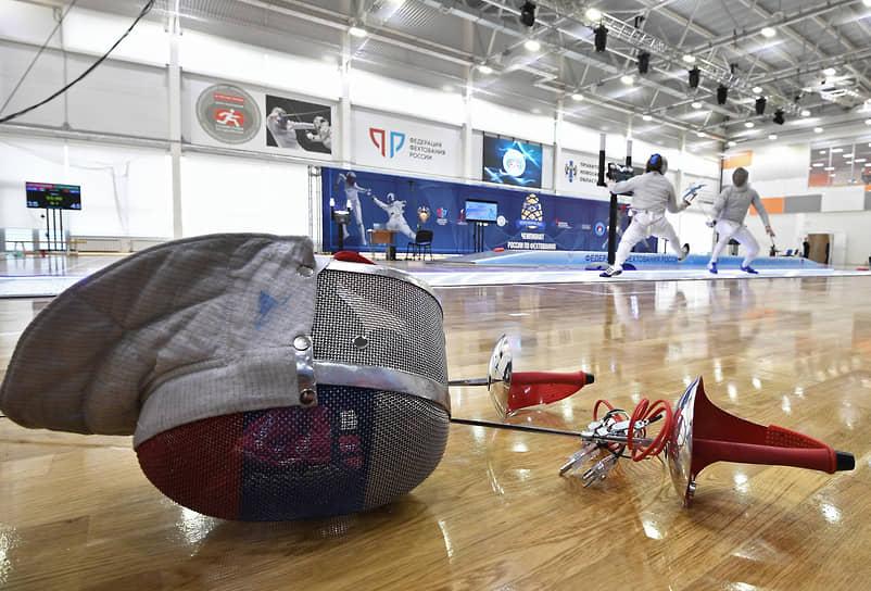 Спортивный зал Сибирского регионального центра фехтования