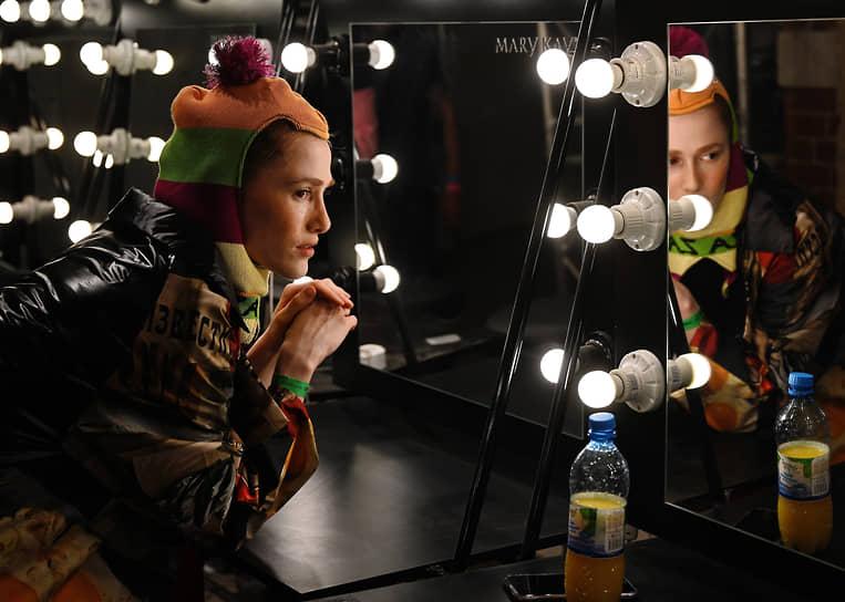 Подготовка к показу новой коллекции бренда ZA_ZA дизайнера Александры Корякиной-Николаевой