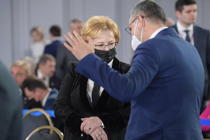 Руководитель Федерального медико-биологического агентства Вероника Скворцова