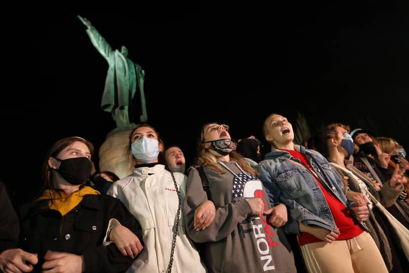 Акция в поддержку Алексея Навального в Волгограде