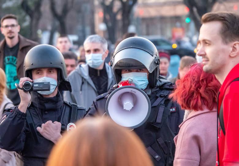 На акции в Хабаровске был задержан один человек