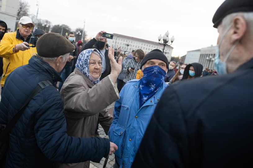 Акция в поддержку Алексея Навального в Калининграде