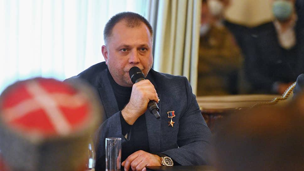 Председатель правления «Союза добровольцев Донбасса» Александр Бородай