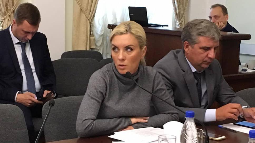 Бывшая председательница комитета по управлению имуществом (КУИ) администрации Саратова Елена Салеева
