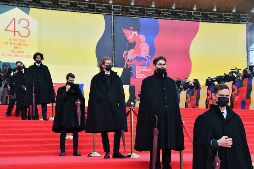 Церемония открытия ММКФ в Московском театре мюзикла