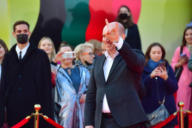 Актер Сергей Бурунов на церемонии открытия ММКФ