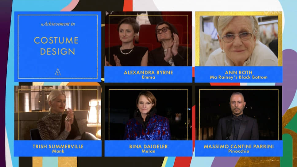 Энн Рот стала обладательницей «Оскара» как лучший художник по костюмам «Ма Рейни: Мать блюза»