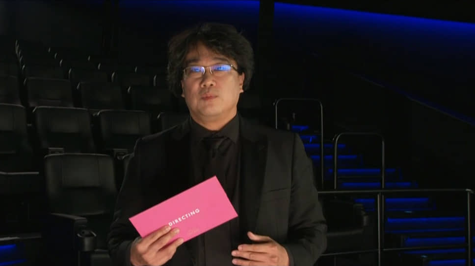 Режиссер Пон Джун-хо на связи из Сеула (Южная Корея)