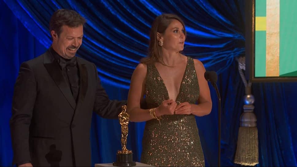 Авторы фильма «Мой учитель-осьминог» Пиппа Эрлих и Джеймс Рид получили награду за лучший документальный фильм