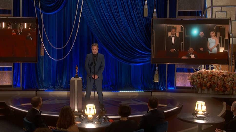 Команда фильма «Довод» получила «Оскар» за лучшие визуальные эффекты