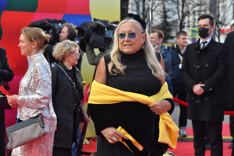 Президент благотворительного фонда «Русский силуэт» Татьяна Михалкова во время церемонии открытия ММКФ