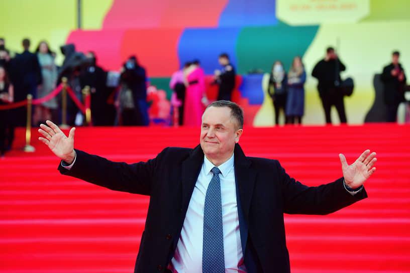 Актер Андрей Соколов на церемонии открытия ММКФ