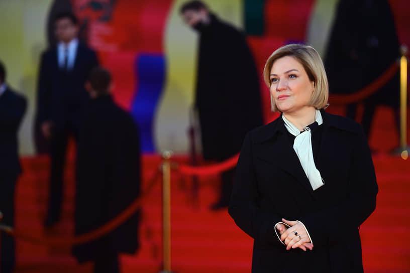 Министр культуры России Ольга Любимова на церемонии открытия 43-го ММКФ в Московском театре мюзикла