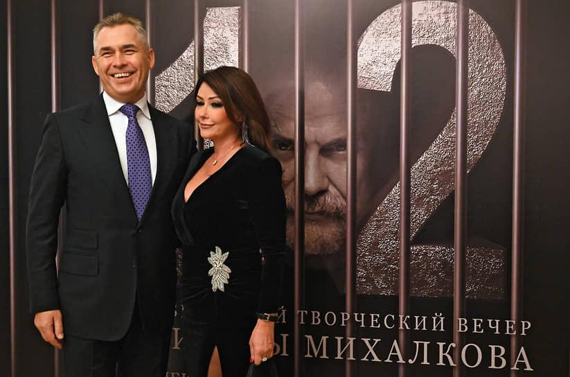 Адвокат Павел Астахов с женой Светланой на творческом вечере Никиты Михалкова «12»